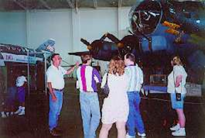 The Hill Aerospace Museum volunteer staff presently boasts 95 active, personable, experienced, dedicated individuals from all walks of life, including active duty Air Force personnel.