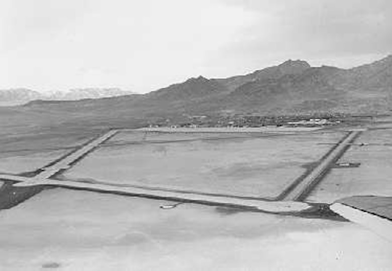 "The airfield, established in early 1920, was chosen for its ""strategic and topographical advantages"" and because the required enlargements could be easily accommodated by the vacant land surrounding it."