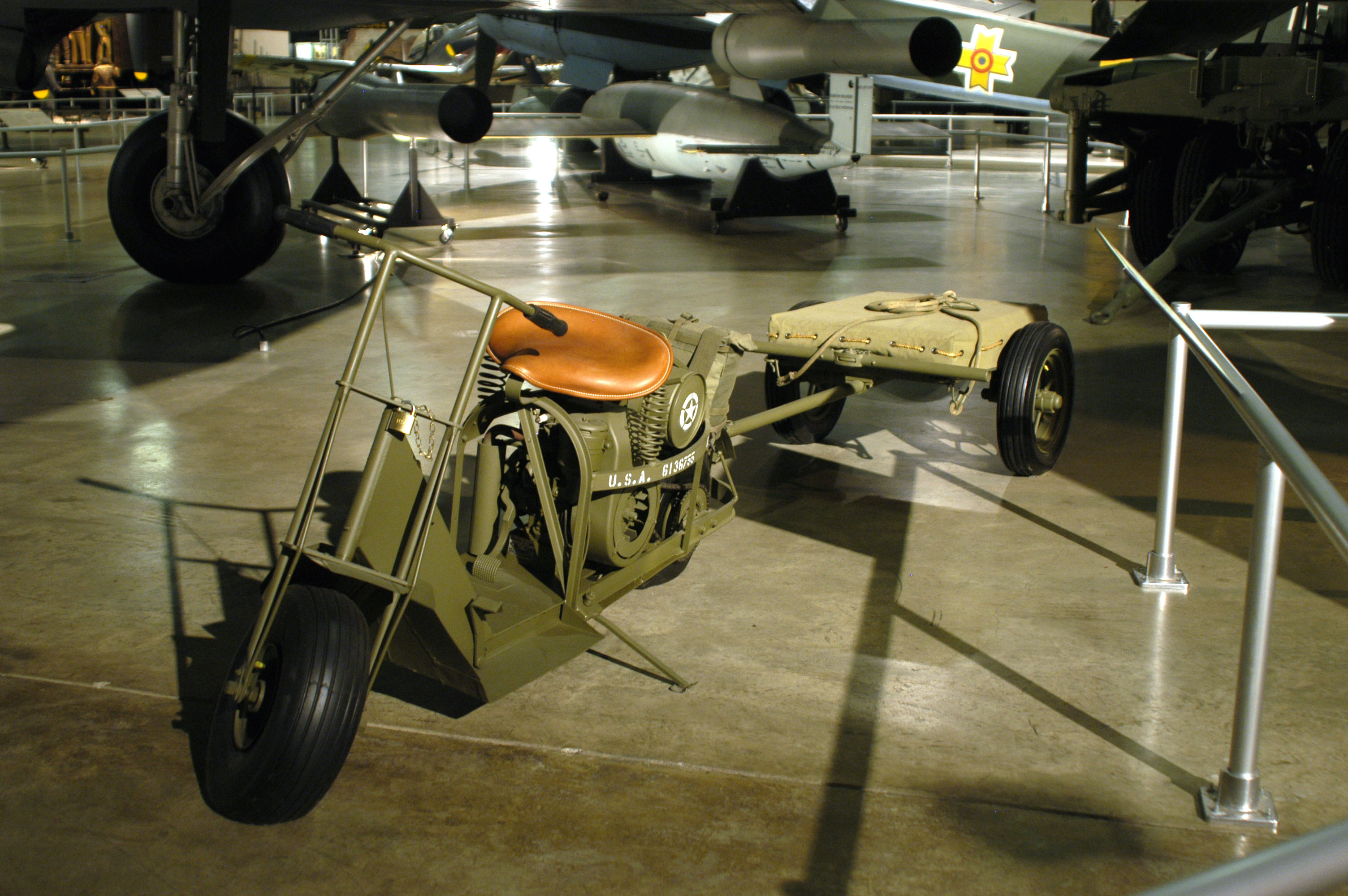 Cushman Airborne Scooter Gt National Museum Of The Us Air