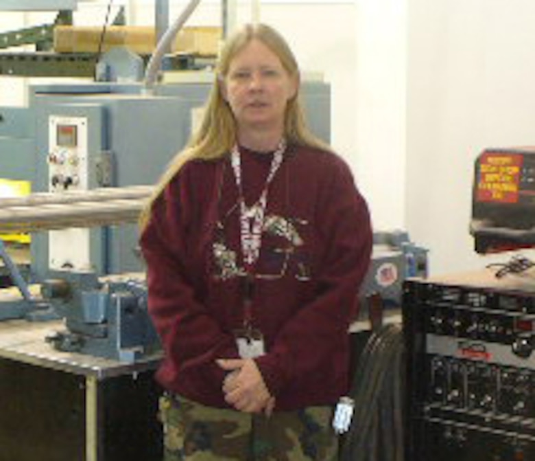 Ms. Denice Macmillan hails from Wiesbaden, Germany and is a maintenance mechanic and structures work leader for the 460th Civil Engineer Squadron.