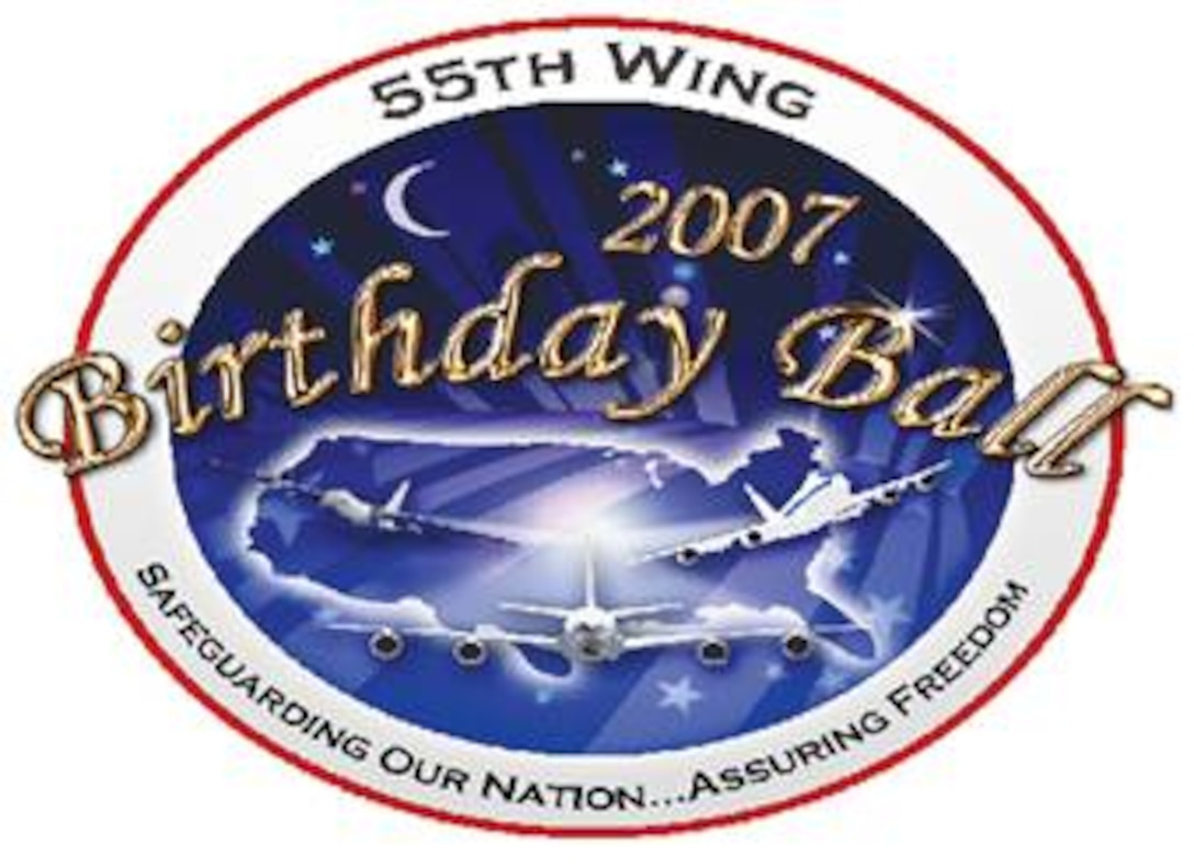 The past, present, and future of the 55th Wing will come together in celebration at the Wing's 29th Annual Birthday Ball, March 31 at the Qwest Center in downtown Omaha.