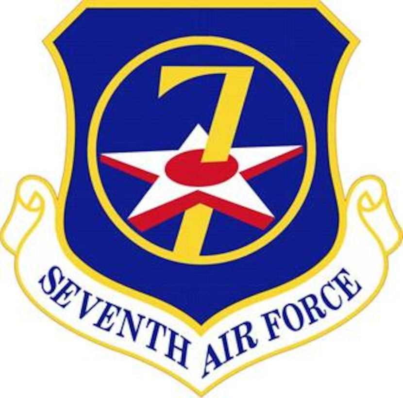 Official Seventh Air Force Emblem