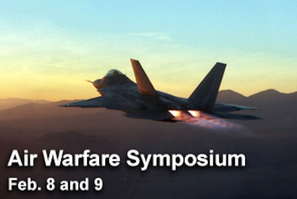 "The 23rd Annual Air Warfare Symposium is scheduled for Feb. 8 and 9 in Orlando, Fla., with a theme for this year's symposioum of ""Striking the Balance: Today's War, Tomorrow's Threats, Future Technology."" (U.S. Air Force photo illustration)"