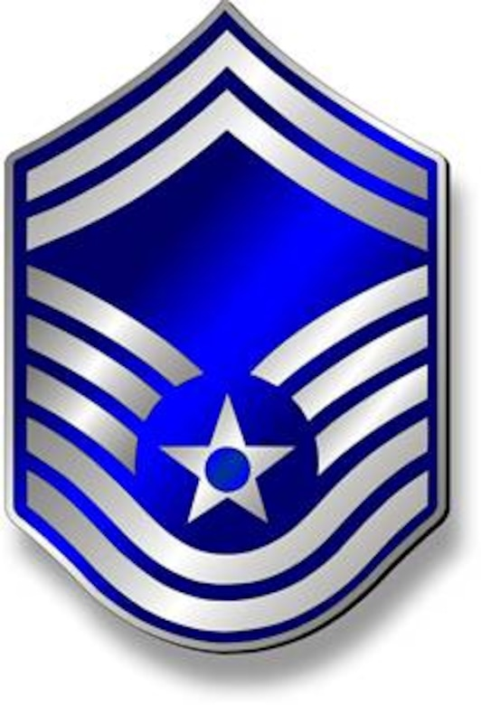 Senior Master Sergeant, SMSgt Stripes (Metallic).  Insignia provided by ITC(SW) MIke Purcell.