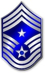 Command Chief Master Sergeant, CMSgt Stripes (Metallic).  Insignia provided by ITC(SW) MIke Purcell.