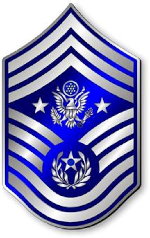 Chief Master Sergeant of the Air Force, CMSAF stripes (Metallic).  Insignia provided by ITC(SW) MIke Purcell.
