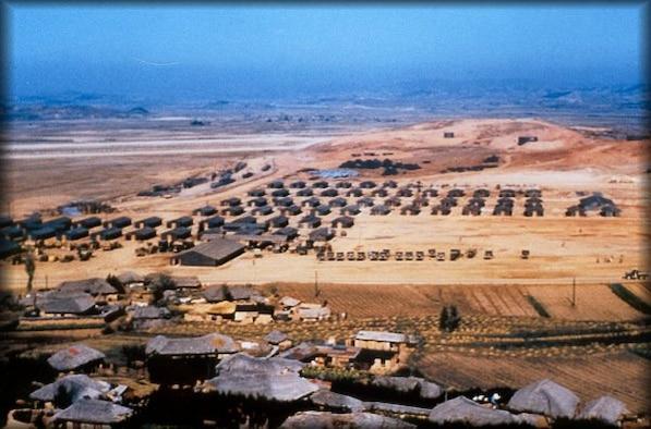 Osan Air Base in 1952. (File photo)