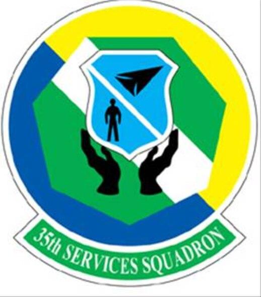 35FW 35th Service Squadron patch