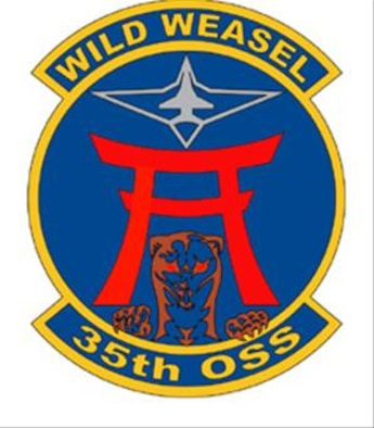 35FW 35th Operations Support Squadron patch