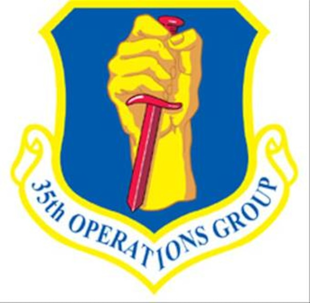 35FW 35th Operations Group patch