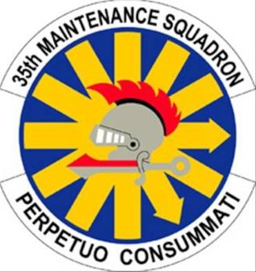35FW 35th Maintenance Squadron patch