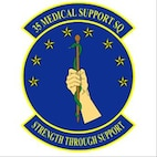 35FW 35th Medical Support Squadron patch