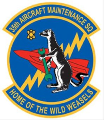 35FW 35 Aircraft Maintenance Squadron Patch