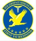 35FW 35 Aerospace Medical Squadron Patch