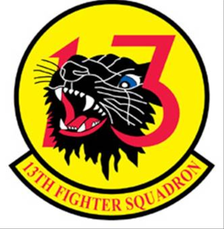 35FW 13 Fighter Squadron Patch