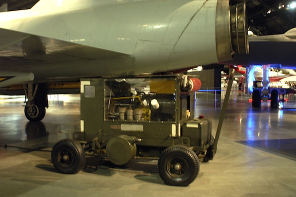 DAYTON, Ohio -- MC-11 Air Compressor on display in the Cold War Gallery at the National Museum of the United States Air Force. (U.S. Air Force photo)