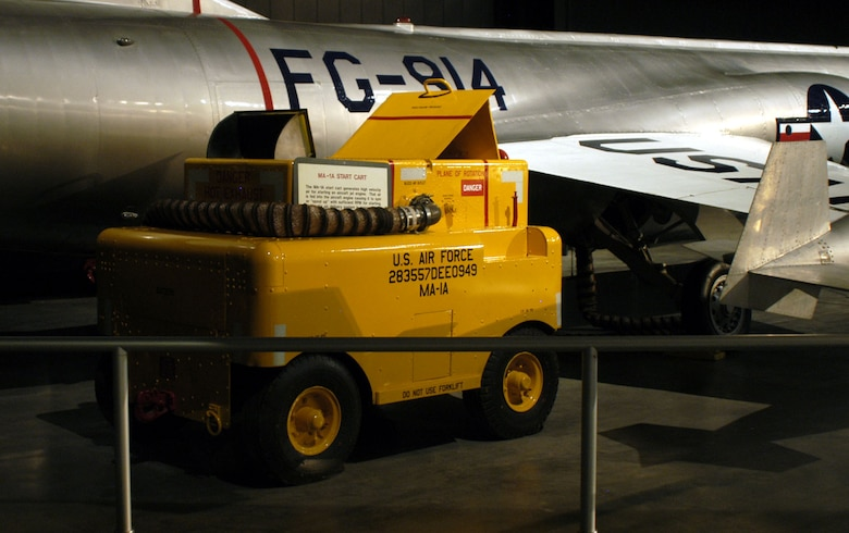 DAYTON, Ohio -- MA-1A Start Cart on display in the Cold War Gallery at the National Museum of the United States Air Force. (U.S. Air Force photo)