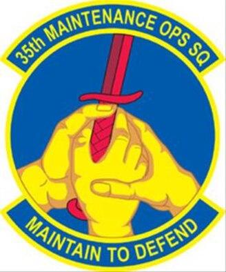 35th FW 35th Maintenance Operations Squadron