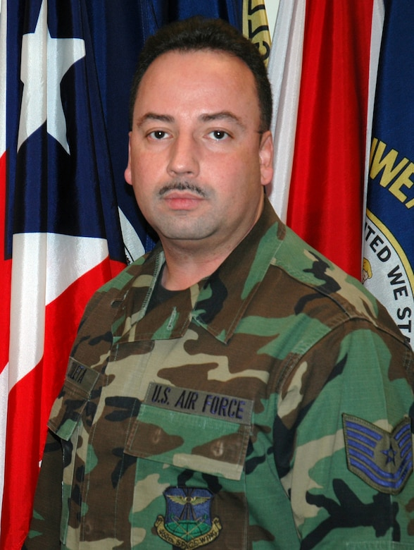 Tech. Sgt. Bernardo Zuleta hails from Patterson, N.J. and is a client support administrator for the 460th Operations Support Squadron.