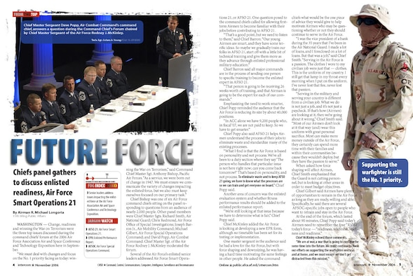 Future Force - Nov 06 issue.