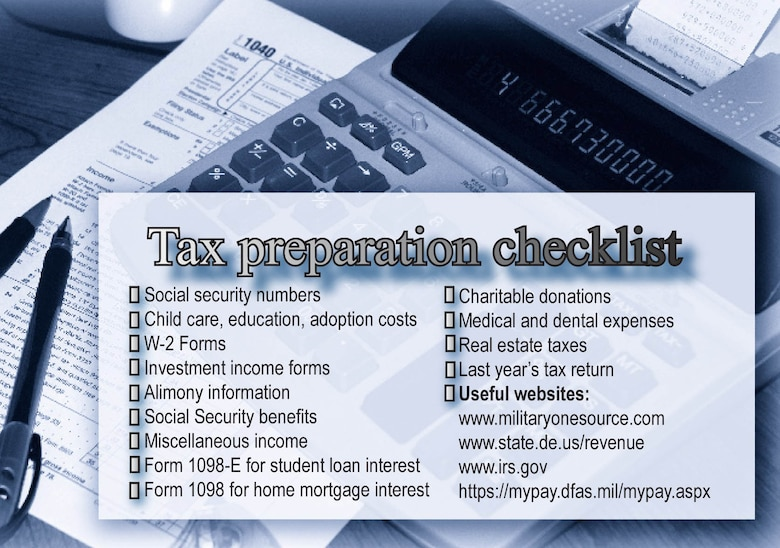 Tax Tips For Taxing Times 512th Airlift Wing Article Display