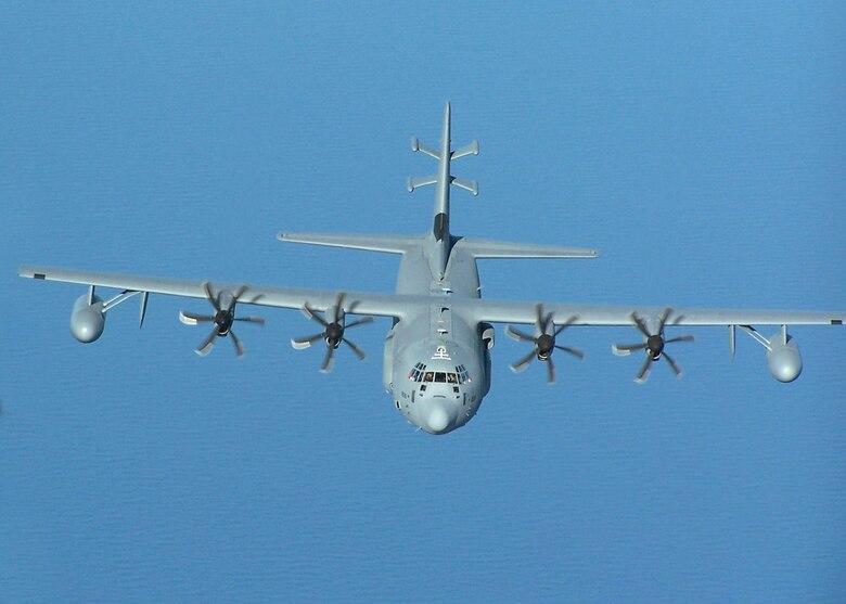 EC-130J in flight.