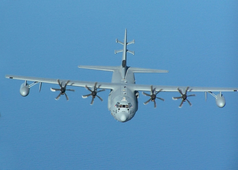 EC-130J in flight.