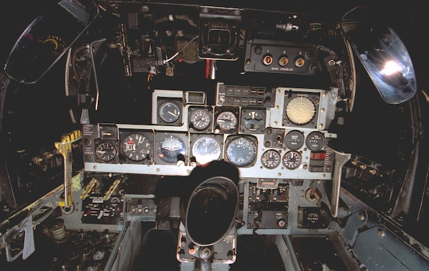 DAYTON, Ohio -- McDonnell Douglas F-4C cockpit at the National Museum of the United States Air Force. (U.S. Air Force photo)