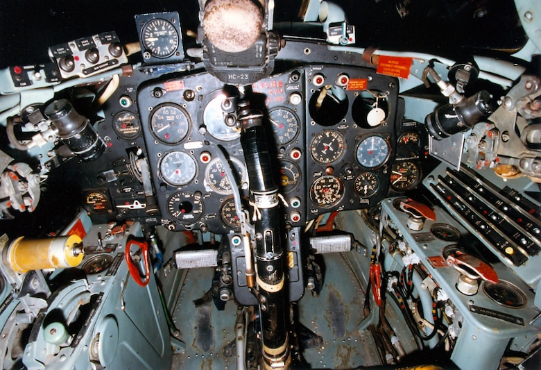 DAYTON, Ohio -- Mikoyan-Gurevich MiG-15 cockpit at the National Museum of the United States Air Force. (U.S. Air Force photo)