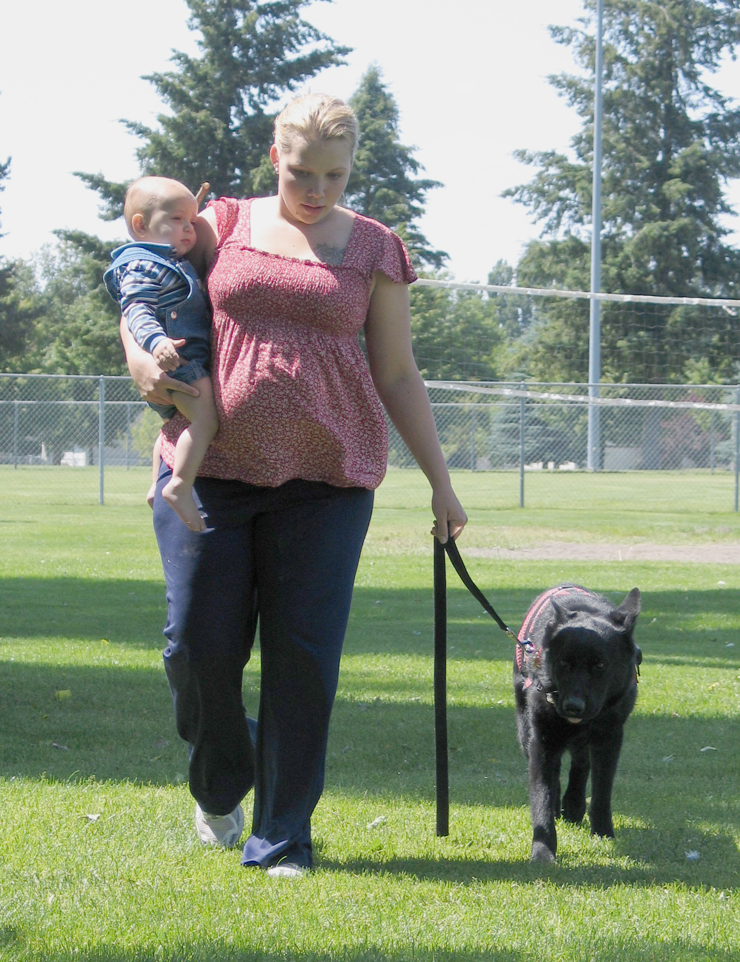 Service dog aids Fairchild family member > Air Mobility Command ...