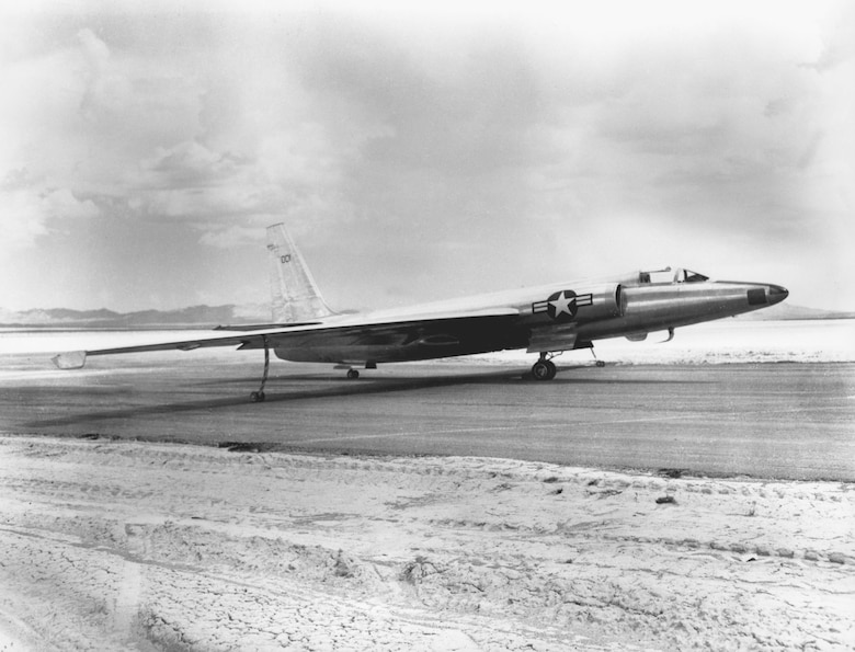 "The U-2 was so secret that the unnamed aircraft was called simply ""the Article."" Article 001, the first U-2, flew for the first time on Aug. 4, 1955. (U.S. Air Force photo)"
