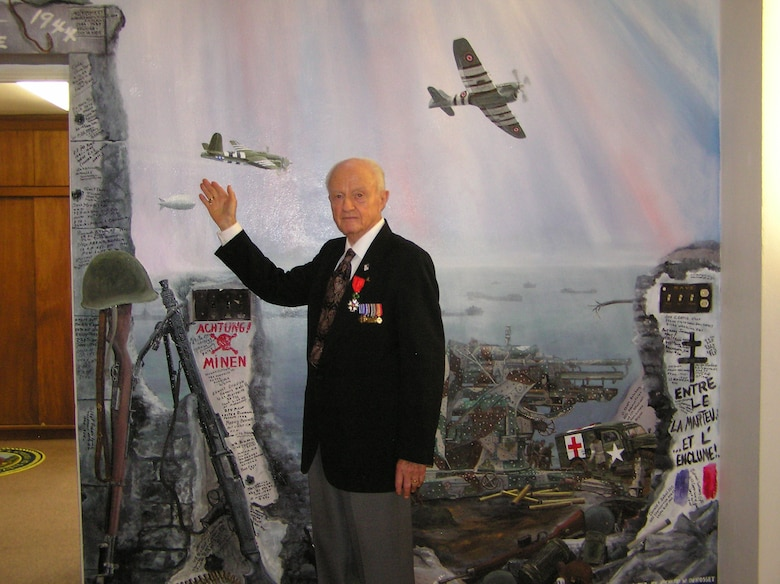 Retired Air Force Lt. Col. William Brooks was the recipient of the French Legion of Honor at a ceremony held July 3 in San Diego. Each year, the French government presents 100 medals to American World War II veterans with distinguished war records for fighting in France.