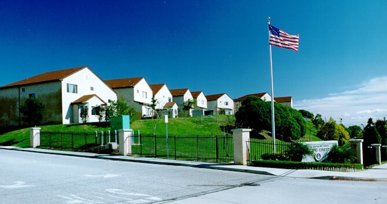 Los Angeles Air Force Base's Pacific Crest Housing Area