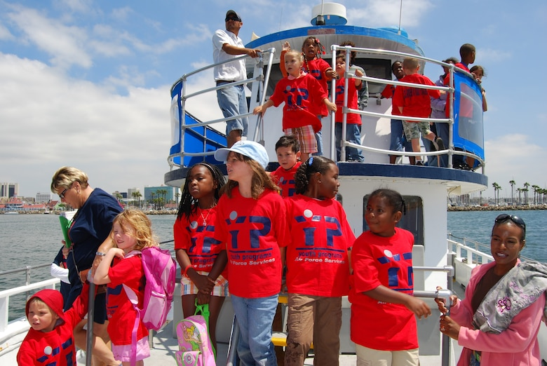 Ahoy matey! Youth Services summer campers get their sea legs on a tour of the Los Angeles Harbor, July 11. The harbor cruise field trip was part of Youth Services' LA Experience Summer Camp. The summer program runs through August and includes trips to museums, beaches and a mud park. (Photo by Paul Testerman)