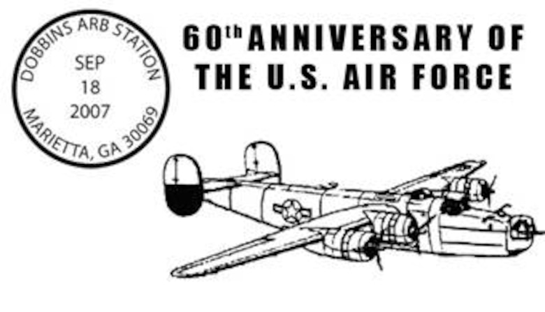 60th Anniversary of the Air Force Postmark