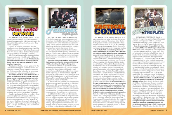Page layout - June 07