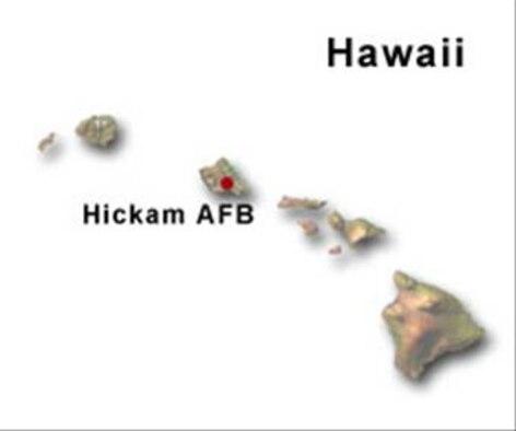 BRAC Map of Hawaii
