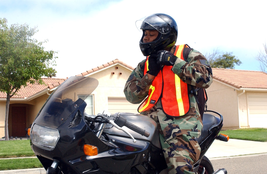 The Hill AFB Motorcycle Safety Course can save lives. Photo by Staff Sgt. Orley Tyrell