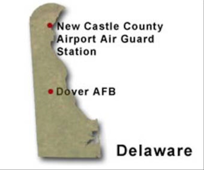 BRAC Map of Delaware