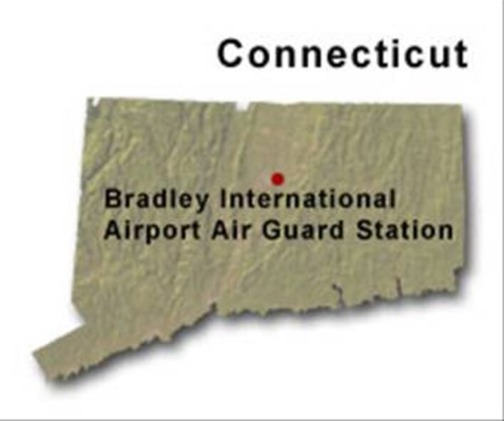 BRAC Map of Connecticut