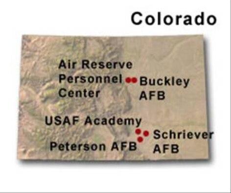 BRAC Map of Colorado