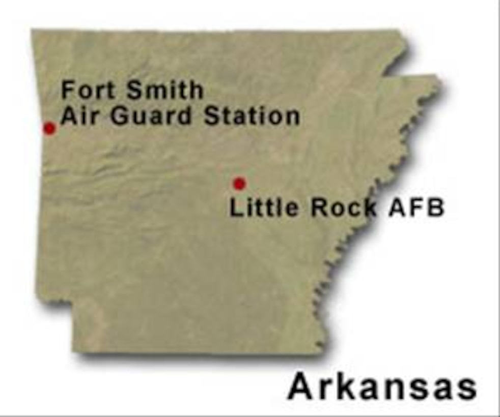 BRAC Map of Arkansas