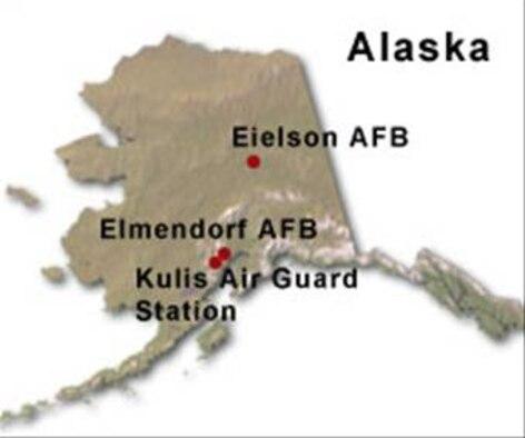 ALASKA BRAC Map