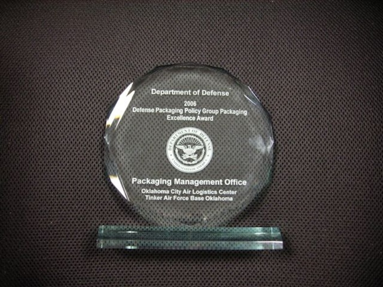 Department of Defense 2006 Defense Packaging Policy Group Packaging Excellence Award