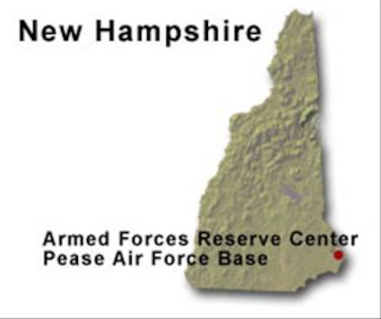 BRAC Map for New Hampshire