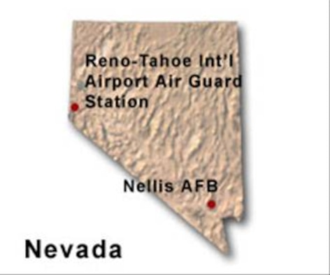 BRAC Map of Nevada