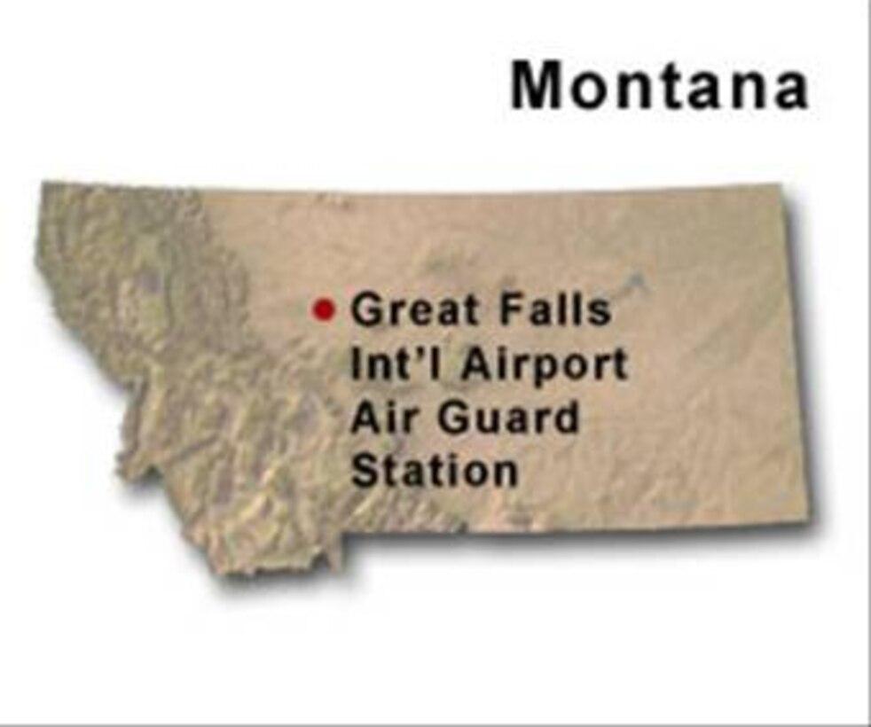 BRAC Map of Montana
