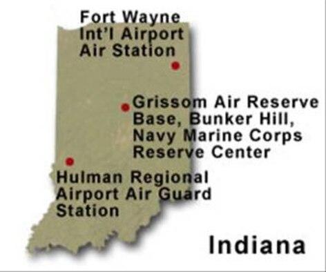 BRAC Map of Indiana