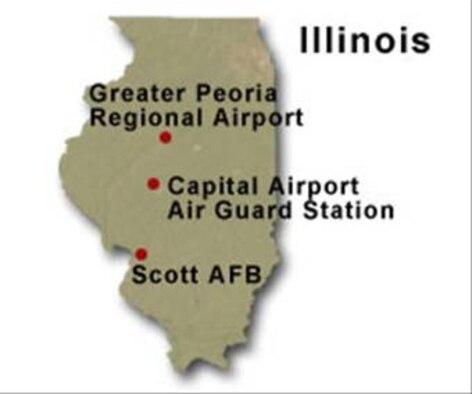 BRAC Map of Illinois