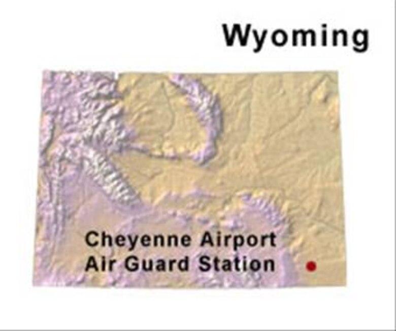 BRAC Map of Wyoming